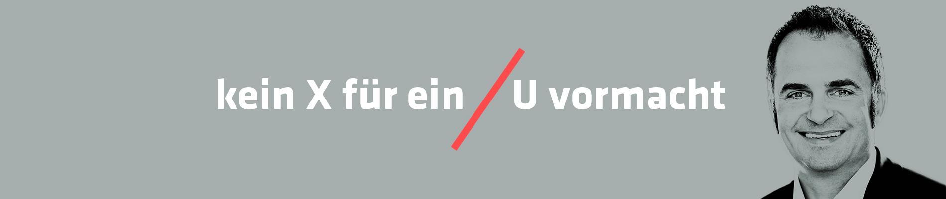 Oliver Urban Finanzberatung Baufinanzierung - kein X für ein U vormacht