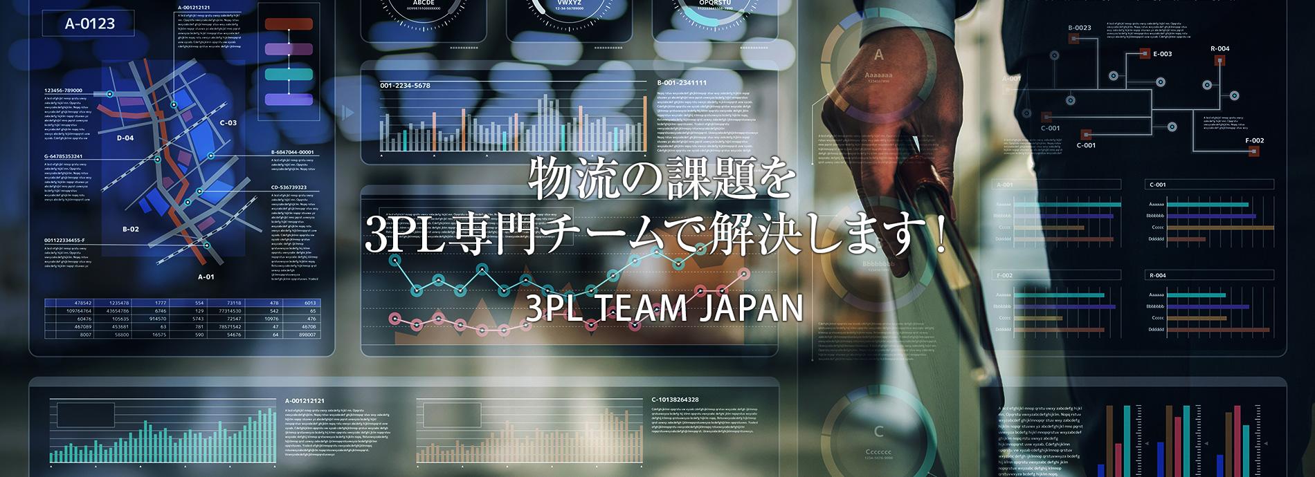 物流の課題を3PL専門チームで解決します!
