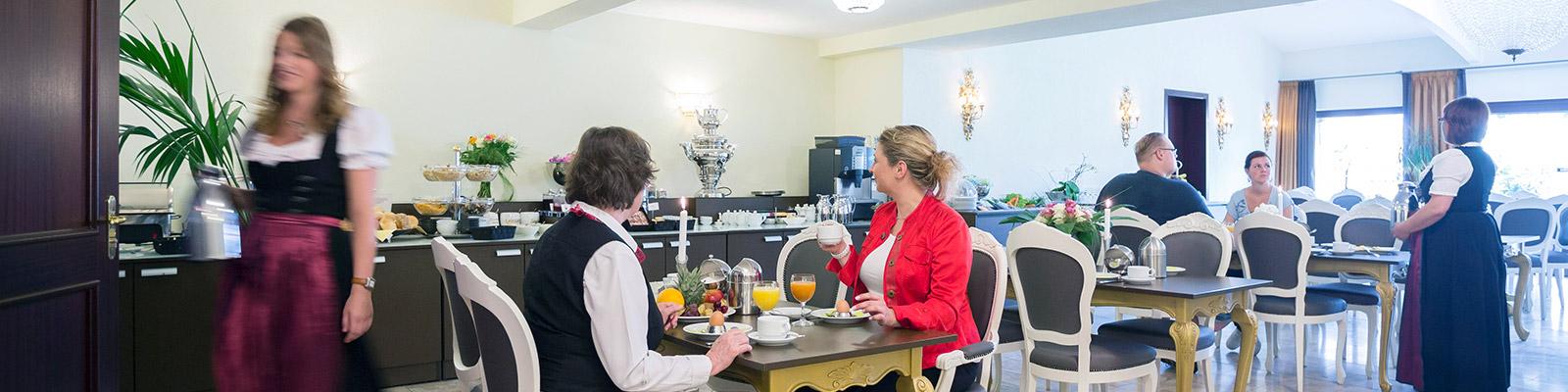Frühstücksbuffet und Brunch im City Hotel Antik Aalen