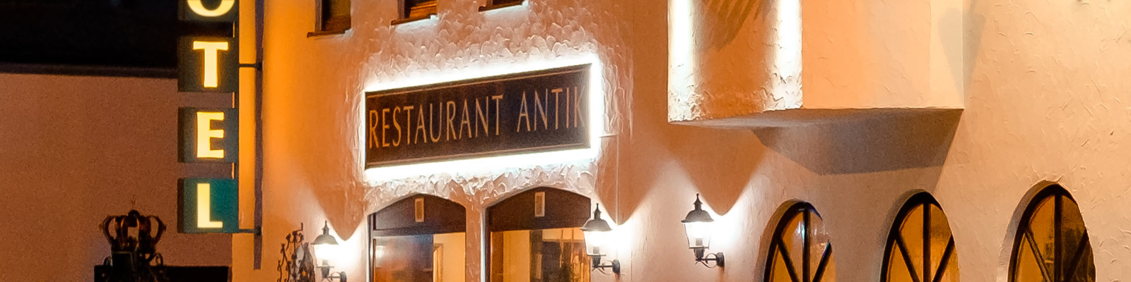 Restaurant City Hotel Antik Aalen