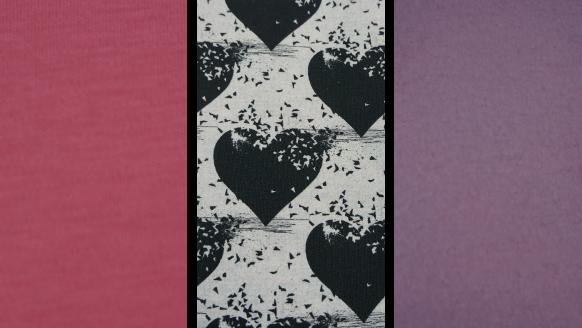 Abbildung des Stoffes für Winterrock für Mädchen