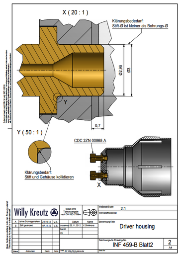 Weidner formaly Willy Kreutz manufactures the right parts for your product. Our extensive range includes turned parts, injection molding and assemblies. Precision and production reliability with extensive experience and technical know-how to date.