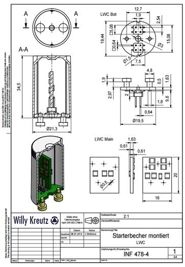 Lampensockel, LED Lampensockel, Blindstarter, LED-Starter