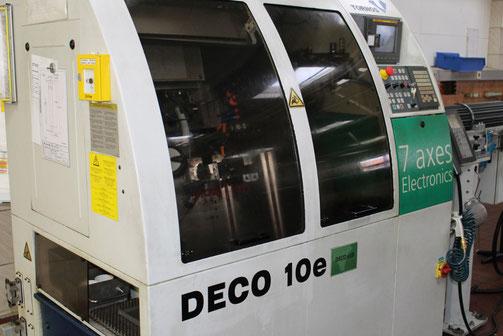 Unsere Drehprodukte fertigen wir auf automatisierten CNC-Dreh- und Bearbeitungszentren. Dadurch sind wir in der Lage, auch komplexe Teile kostengünstig und qualitativ hochwertig zu produzieren.