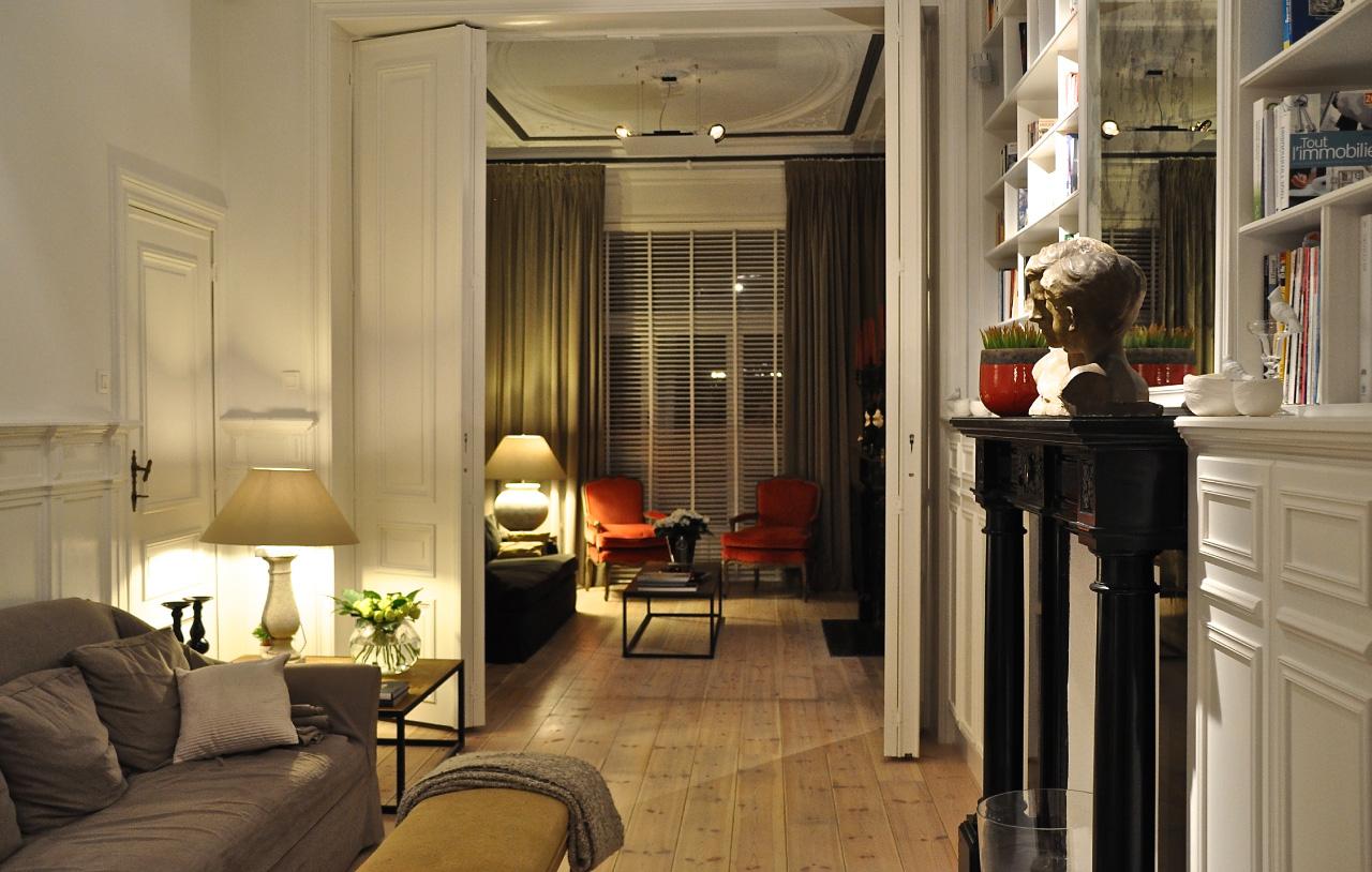 Incroyable Maison D U0026 39 H U00f4tes U00e0 Bruxelles Un Jardin En Ville