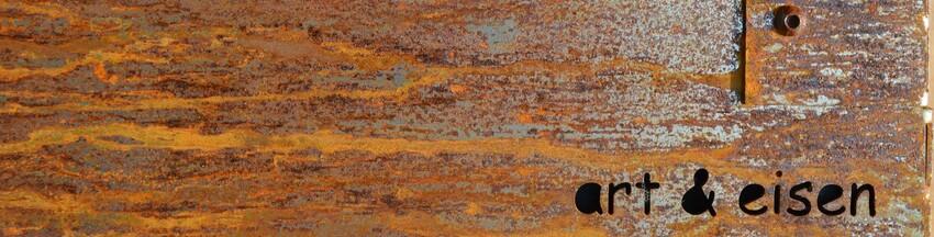 Holzbox art und eisen art eisen holzbox sitzelement for Gartendeko rostigem eisen