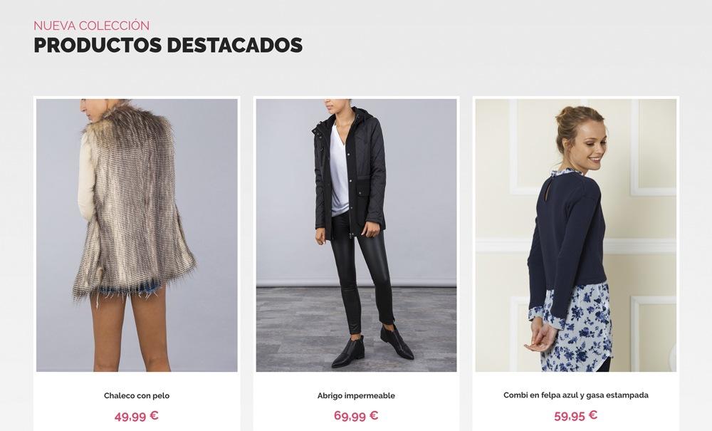 tienda online con de moda