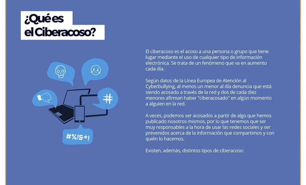 landing page con Jimdo campaña ciberacoso