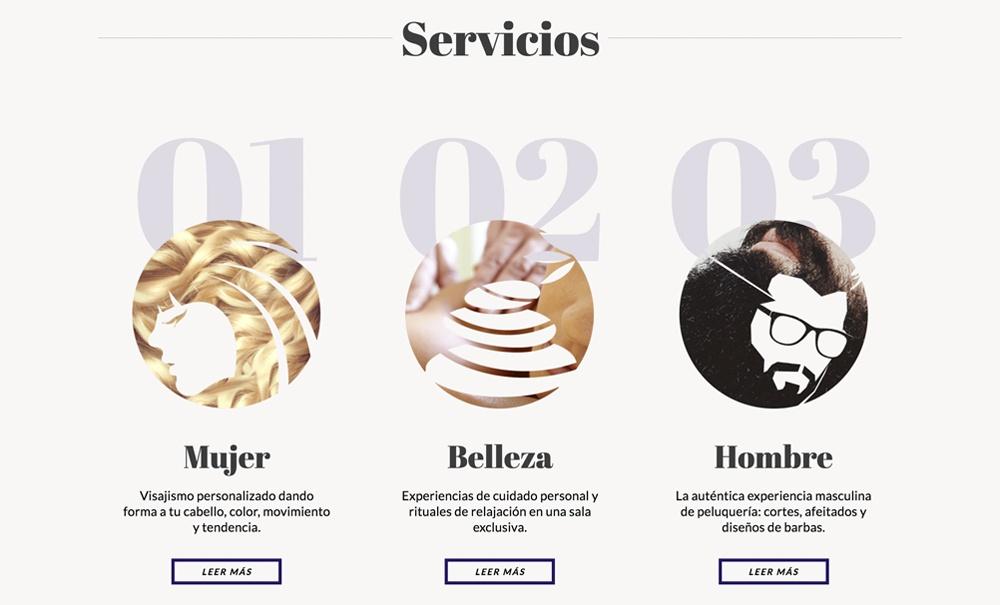 tienda online con Jimdo de artículos peluquería