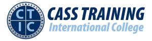 Cass Training International College Logo