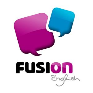 Fusion English Logo