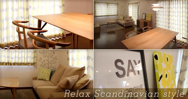 Relax Scandinavian style