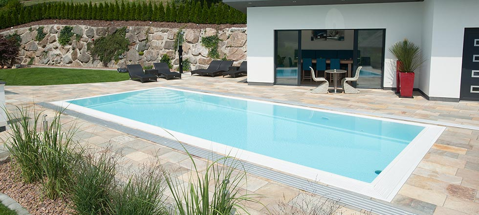 S&K GmbH Jacuzzi Whirlpool - Pool im Garten