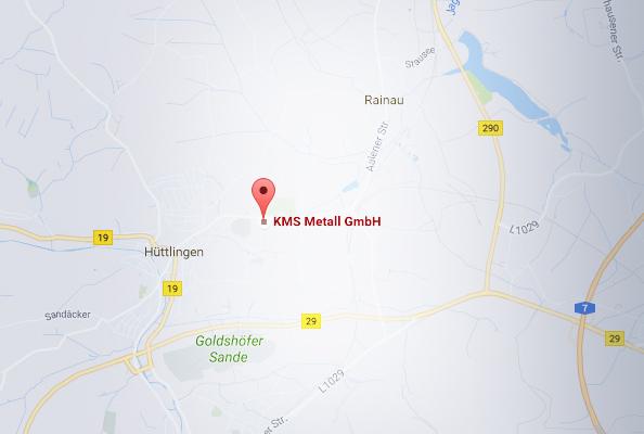 KMS metall GmbH - Anfahrt