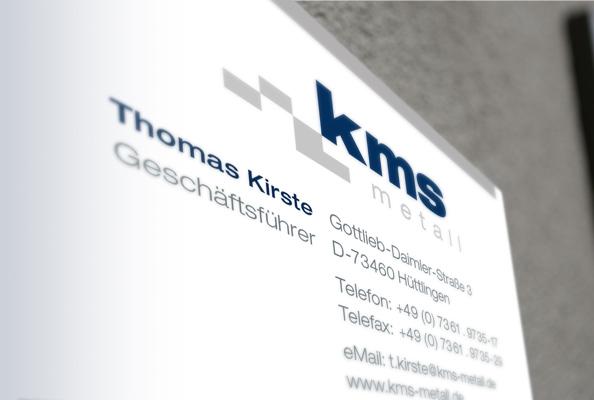 KMS metall GmbH - Kontaktdaten