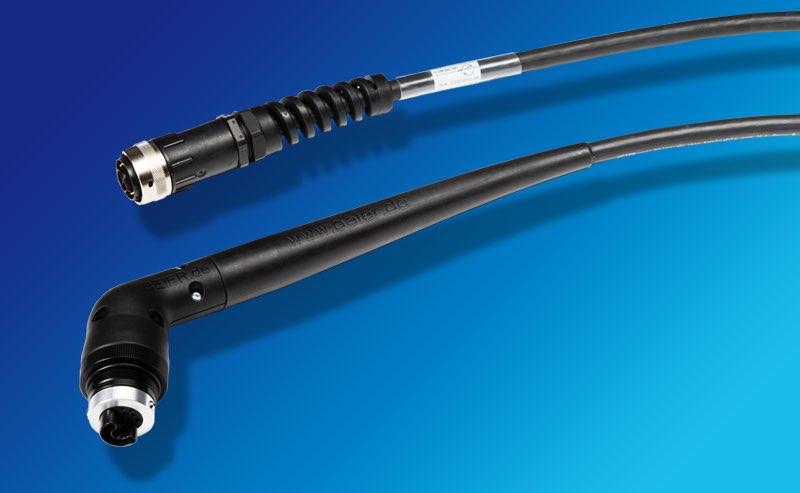 Hier sehen Sie ein BEIER™ High Performance Handschrauberkabel in Version 120° Swivel, AC-4220 2636 XX / 120 S. Dies ist ein Ersatzkabel für ATLAS COPCO TENSOR ST Handschrauber. Ersatz für OEM Teile-Nr. 4220 2636 XX / 4220 2757 XX / 4220 3891 XX