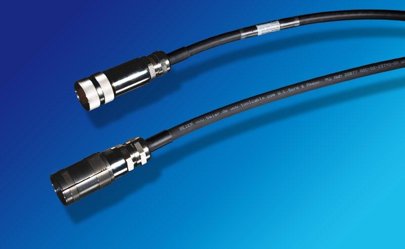 Hier gelangen Sie zur Produktseite für BEIER™ High Performance Ersatzkabel für DESOUTTER EM Motorkabel TWINCVI Spindel.