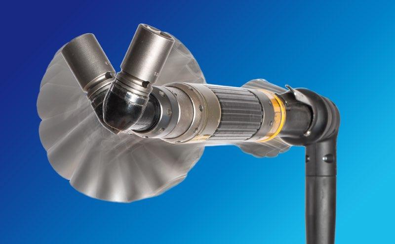 Hier sehen Sie die Funktionsweise der patentierten Swivel-Technologie für BEIER™ Handschrauberkabel, welche eine Drehbewegung des Werkzeugs von +/- 170° ermöglicht.