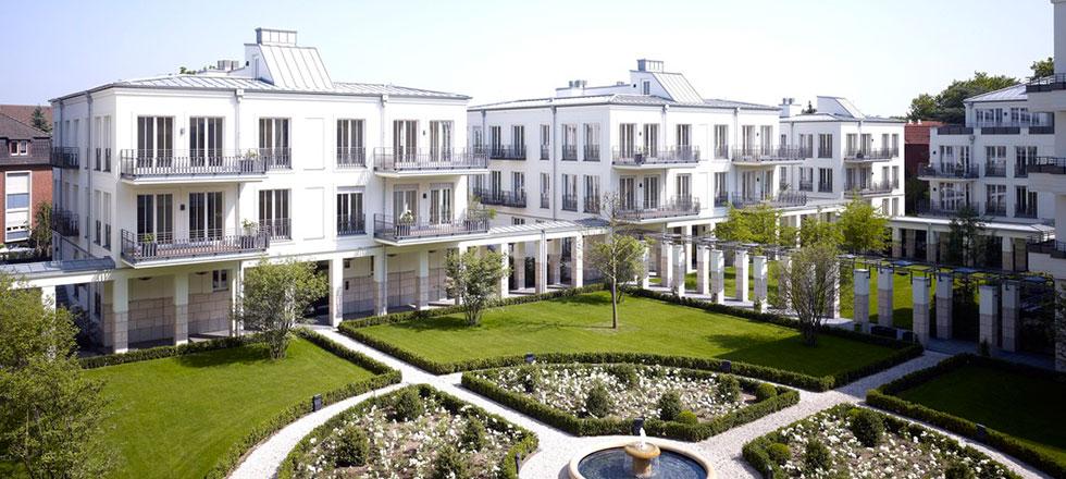 Ein abgeschlossenes Projekt der 3B Denkmalpflege & Bausanierung GmbH mit der Sanierung eines Wohnparks