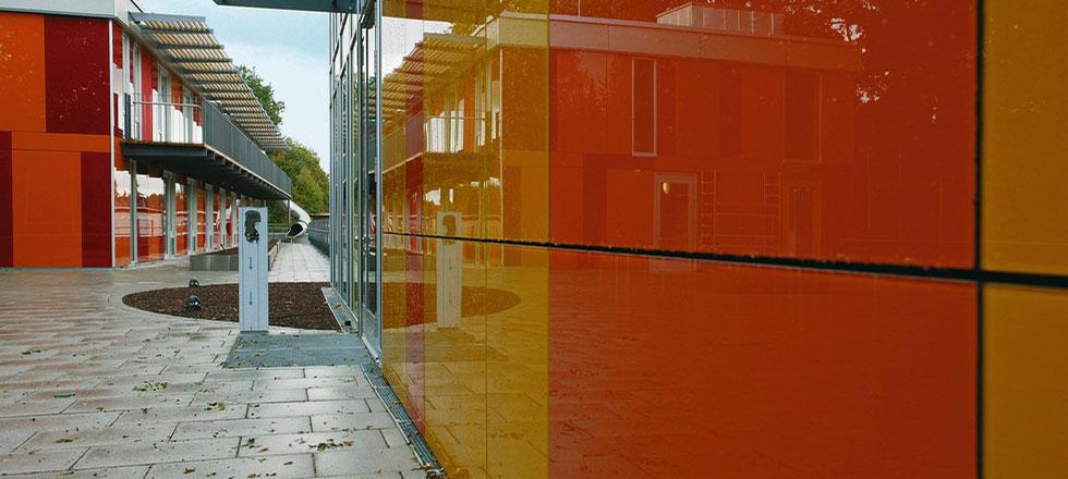 Ein abgeschlossenes Projekt der 3B Denkmalpflege & Bausanierung GmbH einer Vorhangfassade