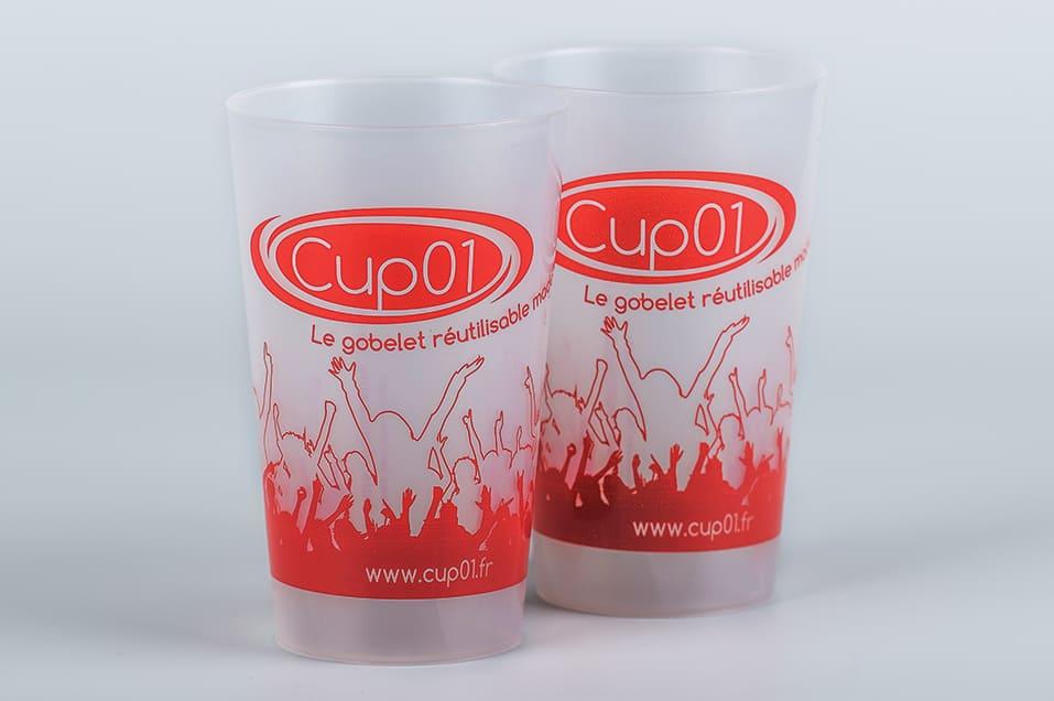 Gobelets cup01 de 25 cl à la location