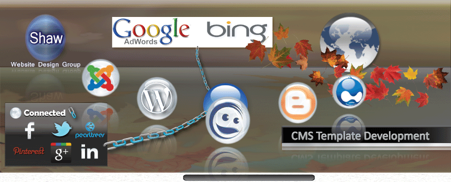 Image of Shaw Content Management System - CMS Header