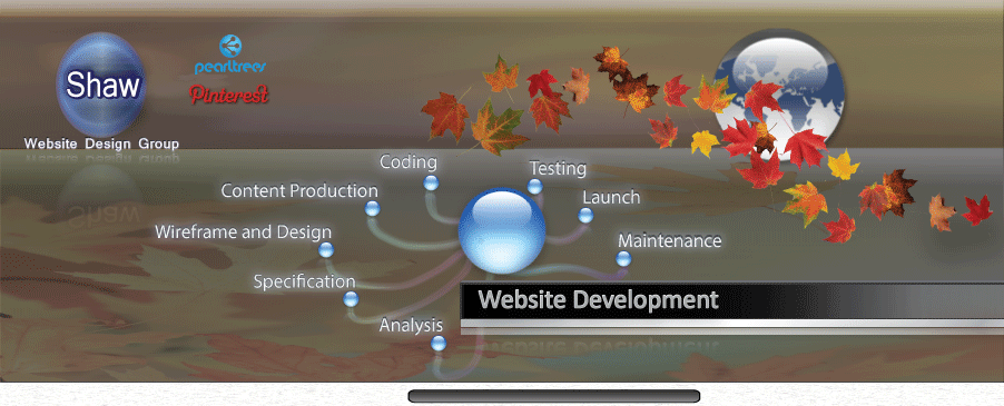 Image of Shaw Web Development Header