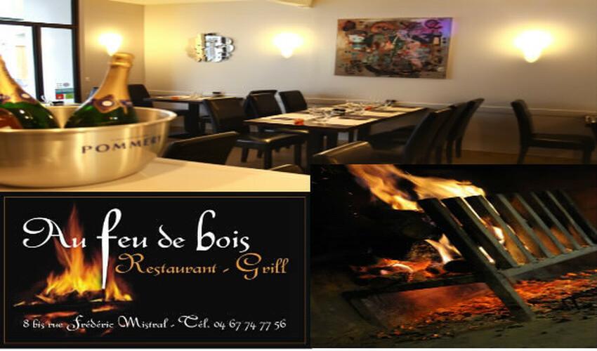 > Restaurant au feu de bois  Restaurant Au Feu de bois Sete Grill Viandes Poissons # Restaurant Feu De Bois