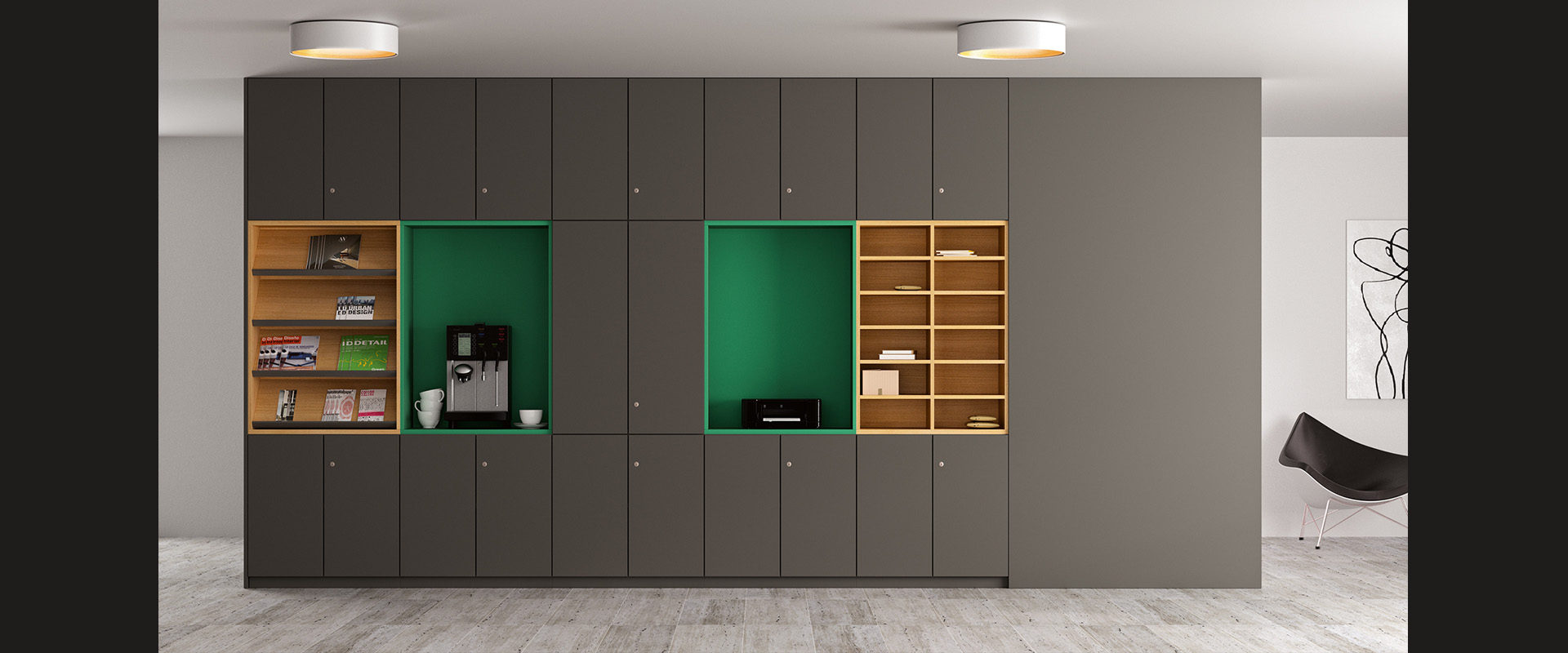 Office cupboards basic S