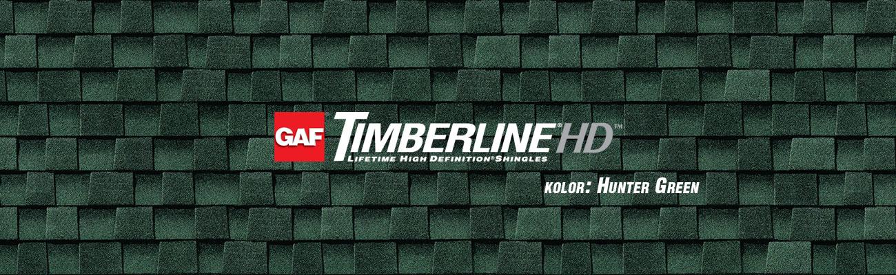 gont bitumiczny GAF Timberline HD w kolorze Hunter Green