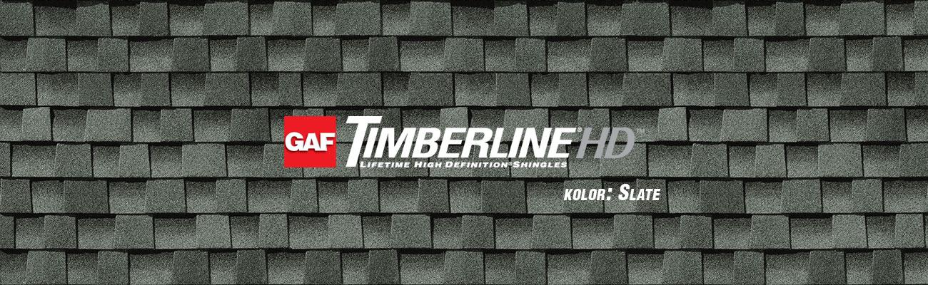 gont bitumiczny GAF Timberline HD w kolorze Slate