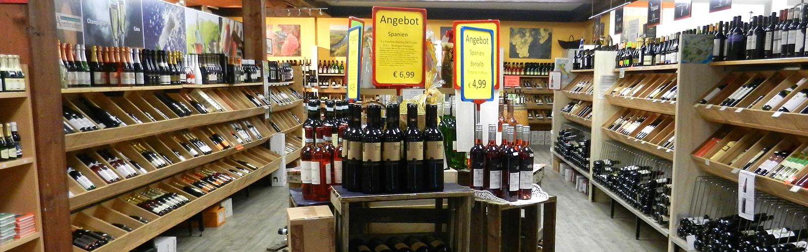 Internationaler und spanischer Wein