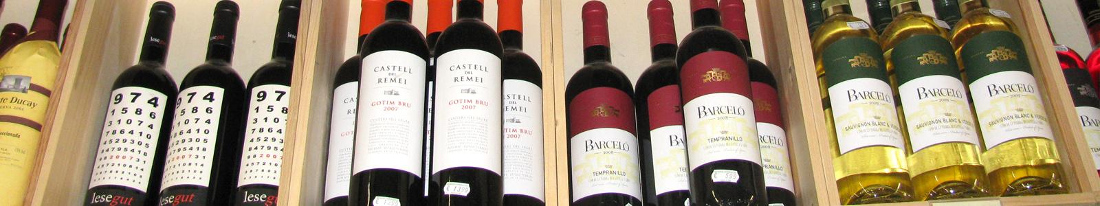 Internationaler, nationaler und regionaler Wein