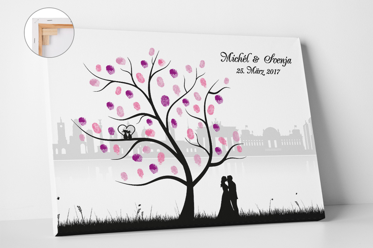 Wedding Tree Skyline