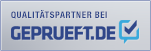 WR - Immobilien Wolfgang Rosin ist von geprueft.de in der Kategorie Immobilienmakler zum Qualitätspartner ernannt worden.