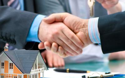 Immobilienverkauf-Verhandlung