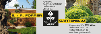 FORRER GARTENBAU | START