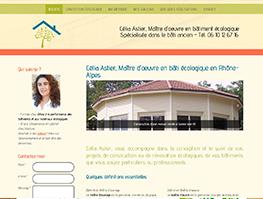 Site internet Célia Astier Maître d'oeuvre