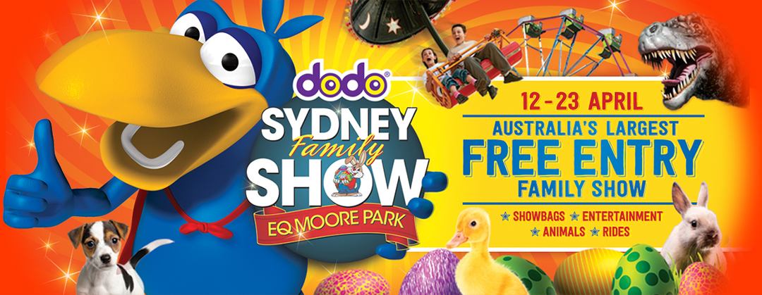 Sydney Family Show - EQ Moore Park - April 2014 - Free Entry