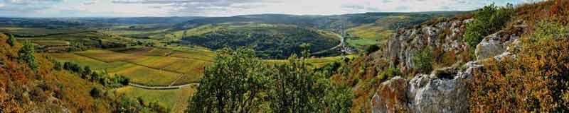 Chassagne-Montrachet et Saint-Aubin en automne