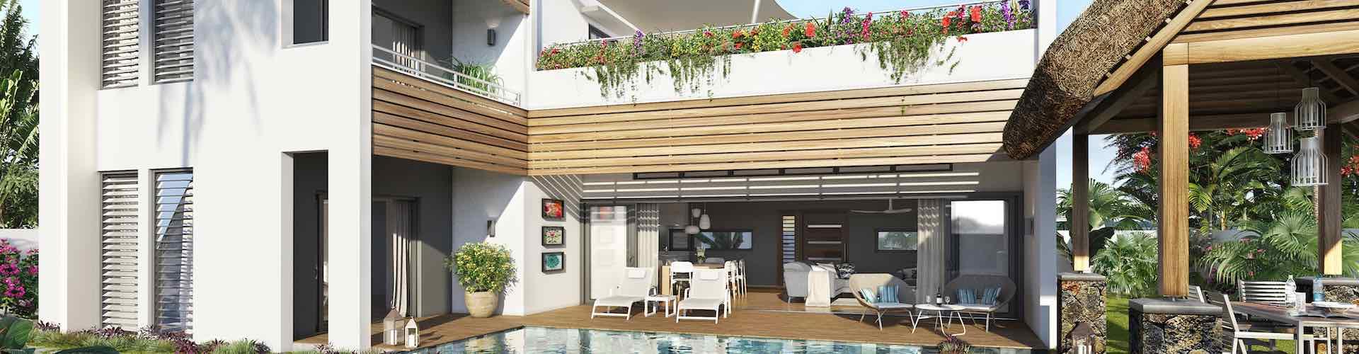achat vente immobilier pds amala luxury villa ile maurice villa en pleine propriété et résidence annonce immobilière proche golf à Tamarin