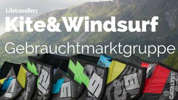 Kite und windsurf Gebrauchtmarkt, Second hand Kitesurf, Kitesurfen, kiten