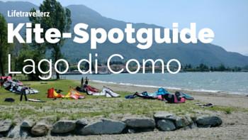 Kitespotguide Lago di Como, Kitesurfen am Comersee Lifetravellerz, Italien, luigiontour