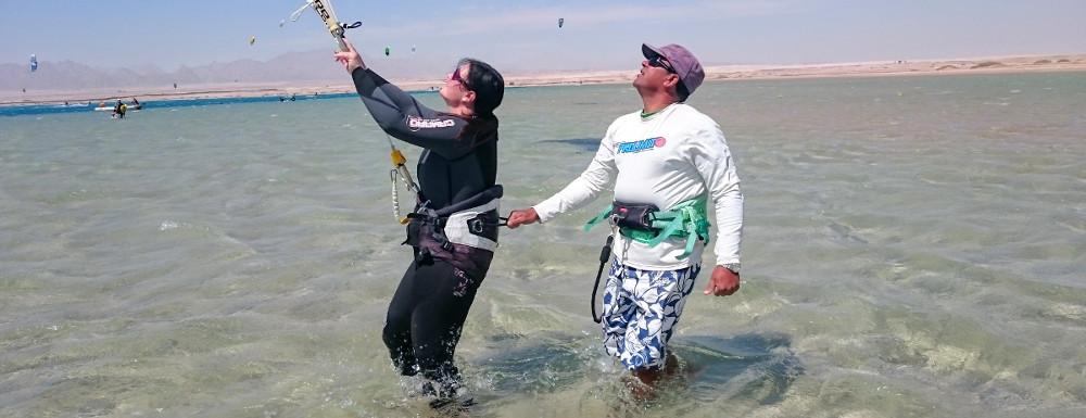 Kitesurfen lernen, Somabay, Ägypten, Kitehouse, Lifetravellerz