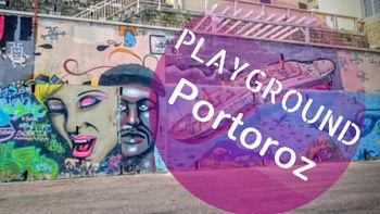 Playground Portoroz-Slowenien-Reiseblog-Lifetravellerz-Kitesurfen-SUP-Laufen