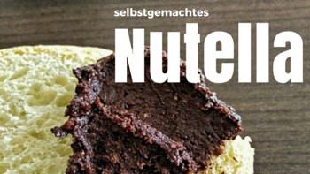 selbstgemachte nutella - diy - selbstgemacht - nutella - schokoaufstrich - haselnussaufstrich - gesundes