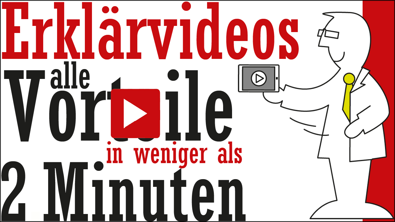 Erklärvideo - ideal für Marketing und PR