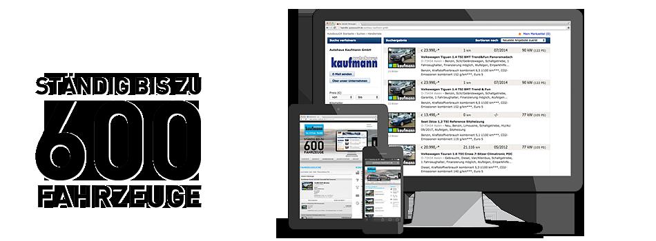 Fahrzeugsuche Autohaus Kaufmann GmbH