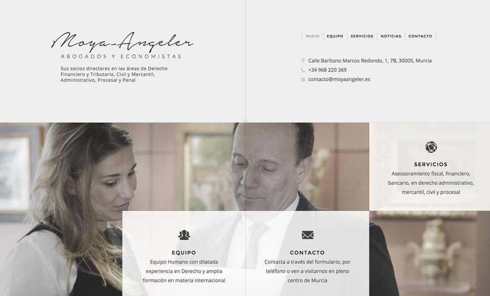 diseño web con Jimdo para bufete abogados