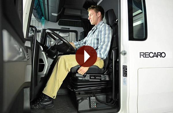 Film: Richtig sitzen im Nutzfahrzeug